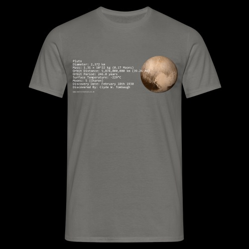 Pluto - Men's T-Shirt