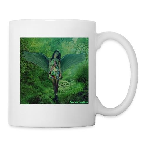 mug Chargé en Guérison Holistique de l'Archange Raphaël - Mug blanc