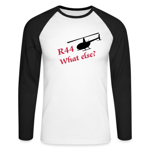 what else? - Männer Baseballshirt langarm