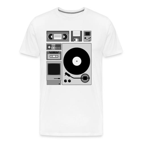 Old Shool männl. - Männer Premium T-Shirt