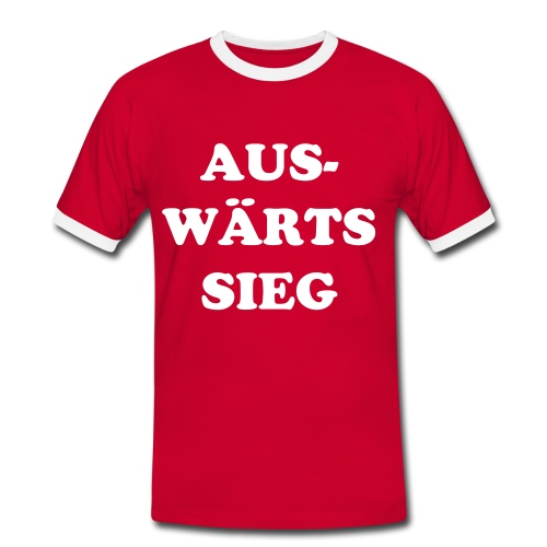 Fan-Shirt - Männer Kontrast-T-Shirt