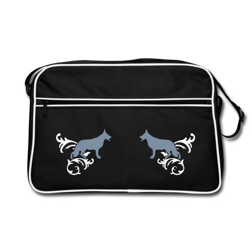 Schäferhund - Retro Tasche