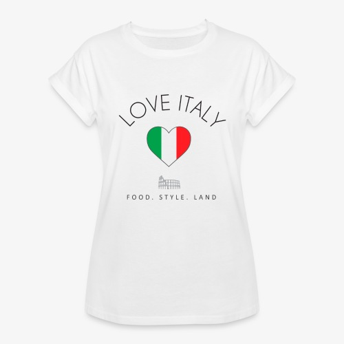 love italy - Maglietta ampia da donna
