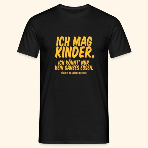 Ich mag Kinder - Männer T-Shirt