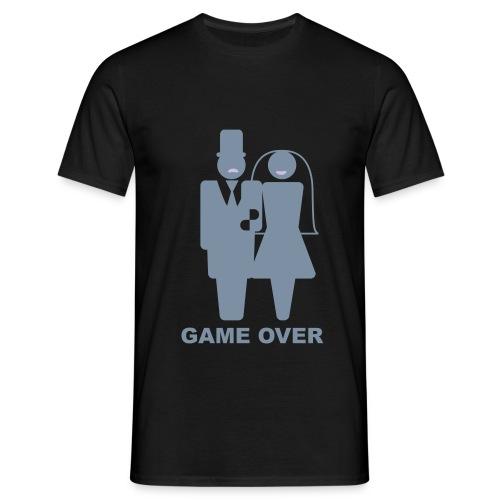 camiseta hombre game over - Camiseta hombre