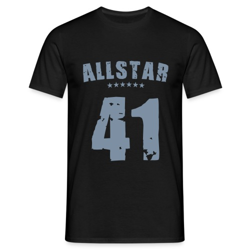 Allstar 41 (silver) - Men's T-Shirt