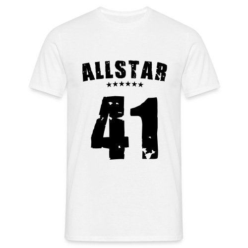 Allstar 41 (black) - Men's T-Shirt