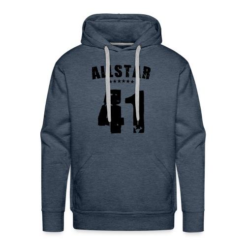 Allstar 41, Hood (black) - Men's Premium Hoodie