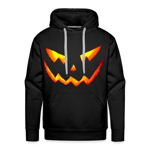 Halloween Scary Pumpkin - Sweat-shirt à capuche Premium pour hommes