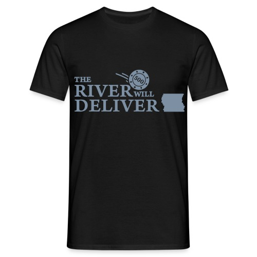 Poker (silver) - Men's T-Shirt