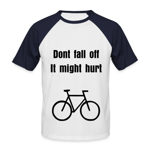 I like to ride my bicycle - Men's Baseball T-Shirt