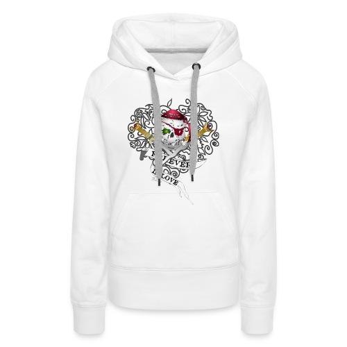 Forever in love 2,Hood  - Women's Premium Hoodie
