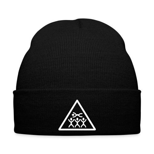 Bonnet Noir avec motif - Bonnet d'hiver