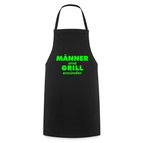 Schürze Männer Grillanzünder - Kochschürze