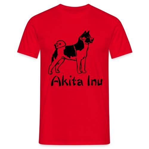 Mens Akita Inu T-Shirt - Men's T-Shirt