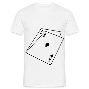 Paire d'as, POKER - T-shirt Homme