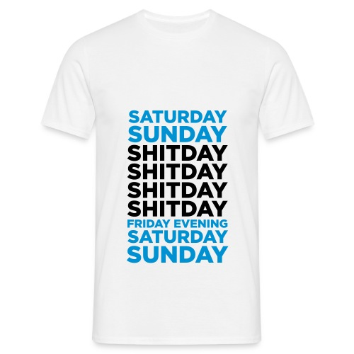 Agenda love weekend - T-shirt Homme