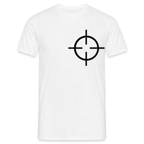 Cible coeur - T-shirt Homme
