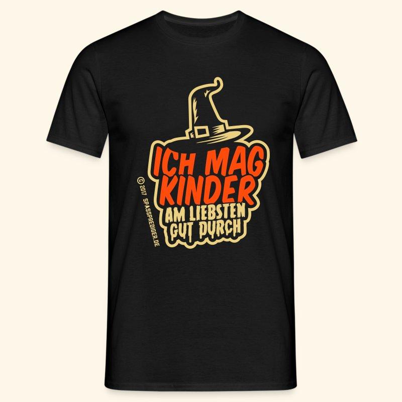 Ich mag Kinder ... am liebsten gut durch - Männer T-Shirt