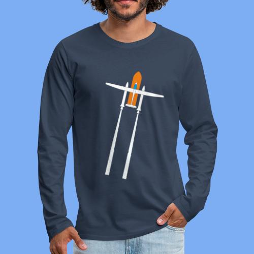 Raketenstart - Men's Premium Longsleeve Shirt