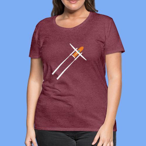 Raketenstart - Women's Premium T-Shirt