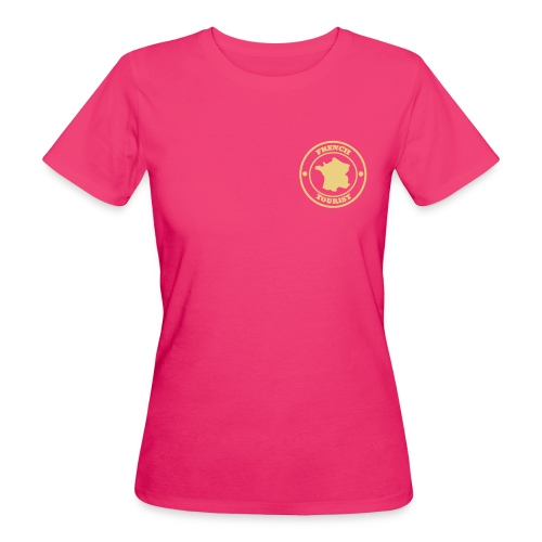 French Tourist organic femme - T-shirt bio Femme