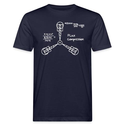 Flux Kompensator mit Branding | Bio - Männer Bio-T-Shirt