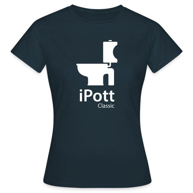 iPott Classic für Frauen - Flexdruck