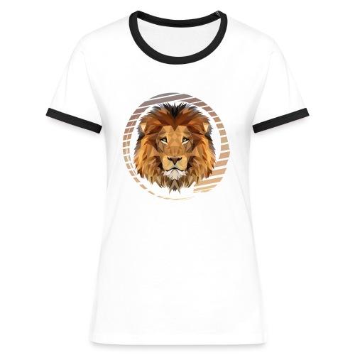 Savannah Pride // Frauen Kontrast T-Shirt - Frauen Kontrast-T-Shirt