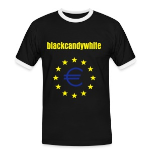Euro-Blackcandwhite - Men's Ringer Shirt