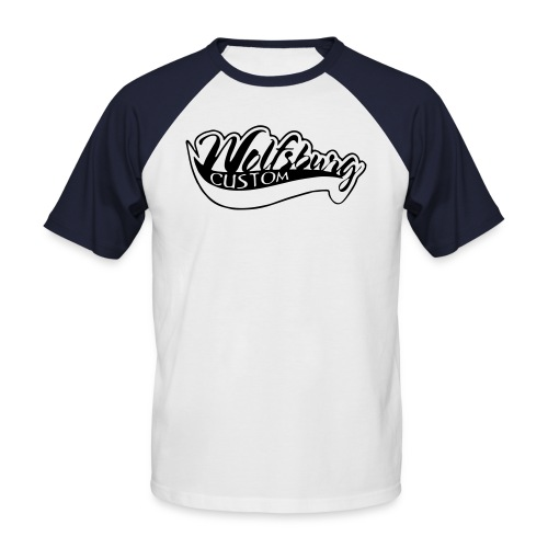 Wolfsburg-Custom Classik S/W - Männer Baseball-T-Shirt