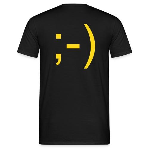 Smilie Shirt - Männer T-Shirt