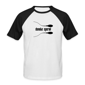 Dona mecos! - Men's Baseball T-Shirt