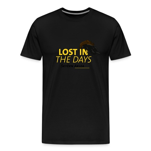T-SHIRT MAN LOST IN THE DAYS - T-shirt Premium Homme