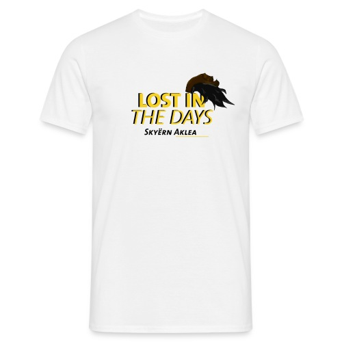 T-SHIRT MAN LOST IN THE DAYS - T-shirt Homme
