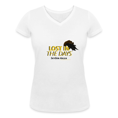 T-SHIRT COWBOY WOMAN LOST IN THE DAYS - T-shirt bio col V Stanley & Stella Femme
