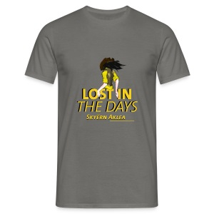 T-SHIRT COWBOY MAN LOST IN THE DAYS - T-shirt Homme