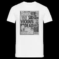 T-Shirts ~ Men's T-Shirt ~ Sid Vicious Dead