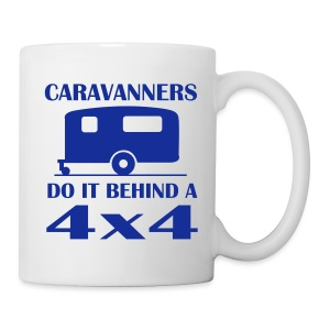 Mug - Caravanners do it behind 4X4's - Mug