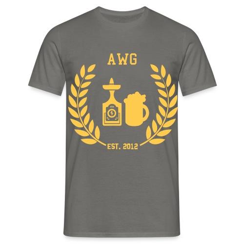 Shirt Orange - Männer T-Shirt