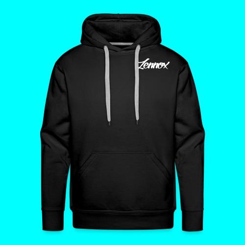 Men's Black Zennox Signature Hoodie - Men's Premium Hoodie