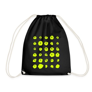 ABC Spots, Cotton Gym Bag - Turnbeutel
