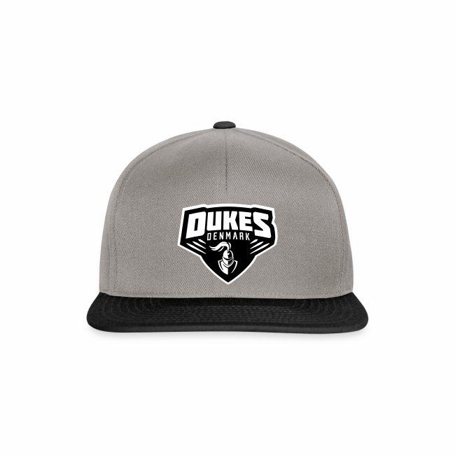 DukesDenmark 2017 Cap sort/hvid logo
