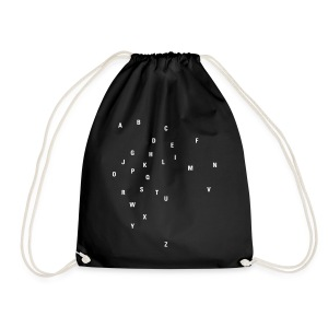 ABC Universe, Cotton Gym Bag - Turnbeutel