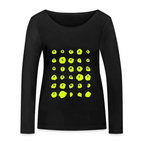 ABC Spots, Ws T-Shirt - Frauen Bio-Langarmshirt von Stanley & Stella