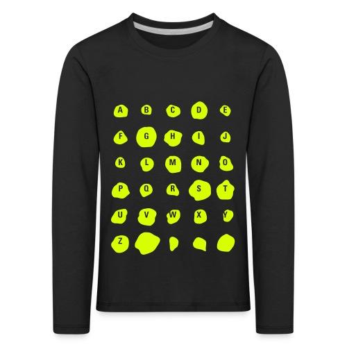 ABC Spots, Kids T-Shirt - Kinder Premium Langarmshirt