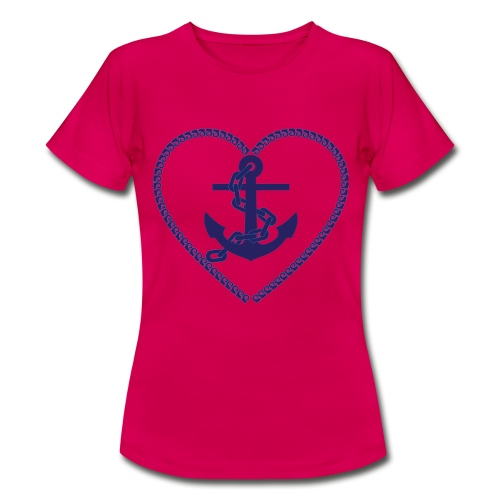 Anchor Heart - Frauen T-Shirt