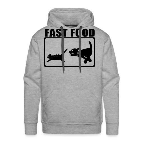 Fast Food Shirt - Herre Premium hættetrøje