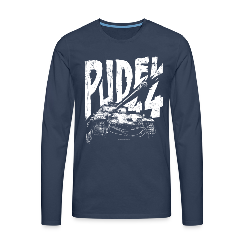 PUDEL 44 - Men's Longsleeve Shirt - Men's Premium Longsleeve Shirt