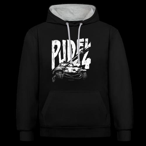 PUDEL 44 - Unisex Hoodie - Contrast Colour Hoodie